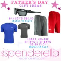Under Armour Shirts and Shorts $9.99 each & Oakley Men's Sunglasses $60 (Regular $193)