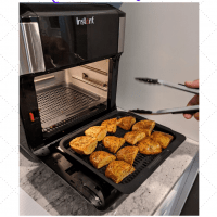 Air Fryer Baked Potato Quarters Recipe with Instant Vortex