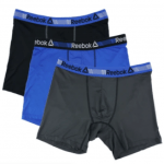 Reebok 3 Packs of Boxers $9.99 & Reebok Sackpack $5.99 Shipped