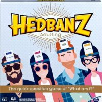 Hedbanz Adulting, Hilarious Party Game $6.48 (Regular $19.99)
