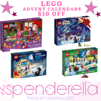 LEGO Advent Calendars $10 OFF - Harry Potter, Friends, Star Wars, City