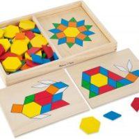 Melissa & Doug Pattern Blocks and Boards $13.99 (Regular $19.99)