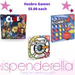 Hasbro Board Games $5.00 (Regular $9.97)