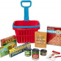 Melissa & Doug Fill & Roll Grocery Basket Play Set $8.99 - 70% Off!