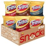 Pack of 40 Fritos Corn Chips Variety Pack $12.49 = $0.31 each. Prime Day Deal!!!