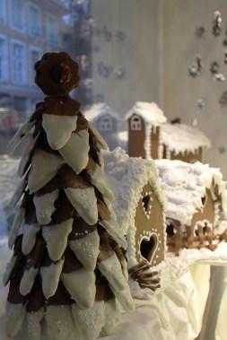 Gingerbread village. My favorite window display.