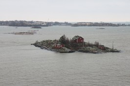 Harbor in Helsinki on ferry to Tallinn.