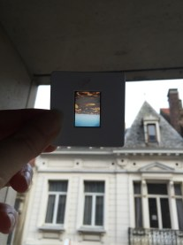 """My very rough """"darkroom"""" a la iPhone."""