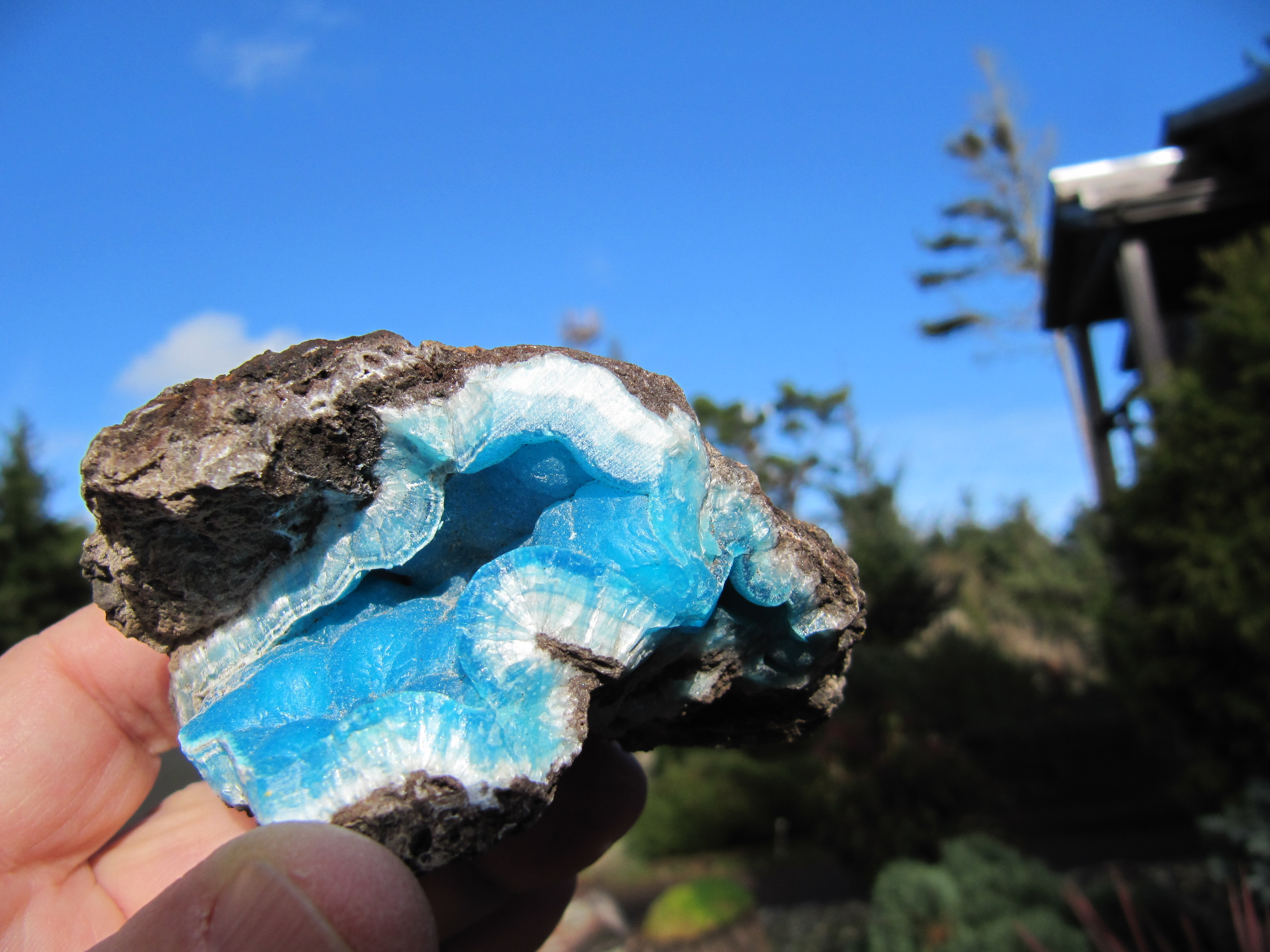 Hemimorphite Blue Gem