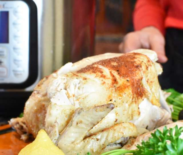 Instant Pot Whole Chicken With Instant Pot Photo