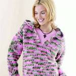 Crochet This Hooded Sweatshirt Free Pattern The Spinners Husband