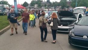 VW Line-up at Volksfest
