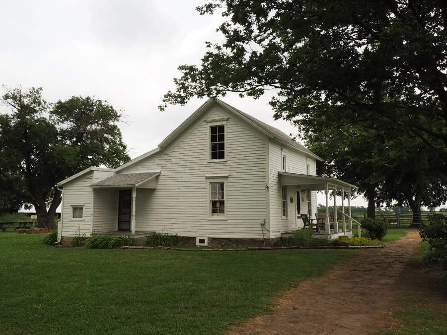 A visit to the Little House on the Prairie museum in Independence, Kansas is a must see for any book fan. An original homestead foundation was found on the property in the 1970s said to be owned by the Ingalls family. | via The Spirited Violet