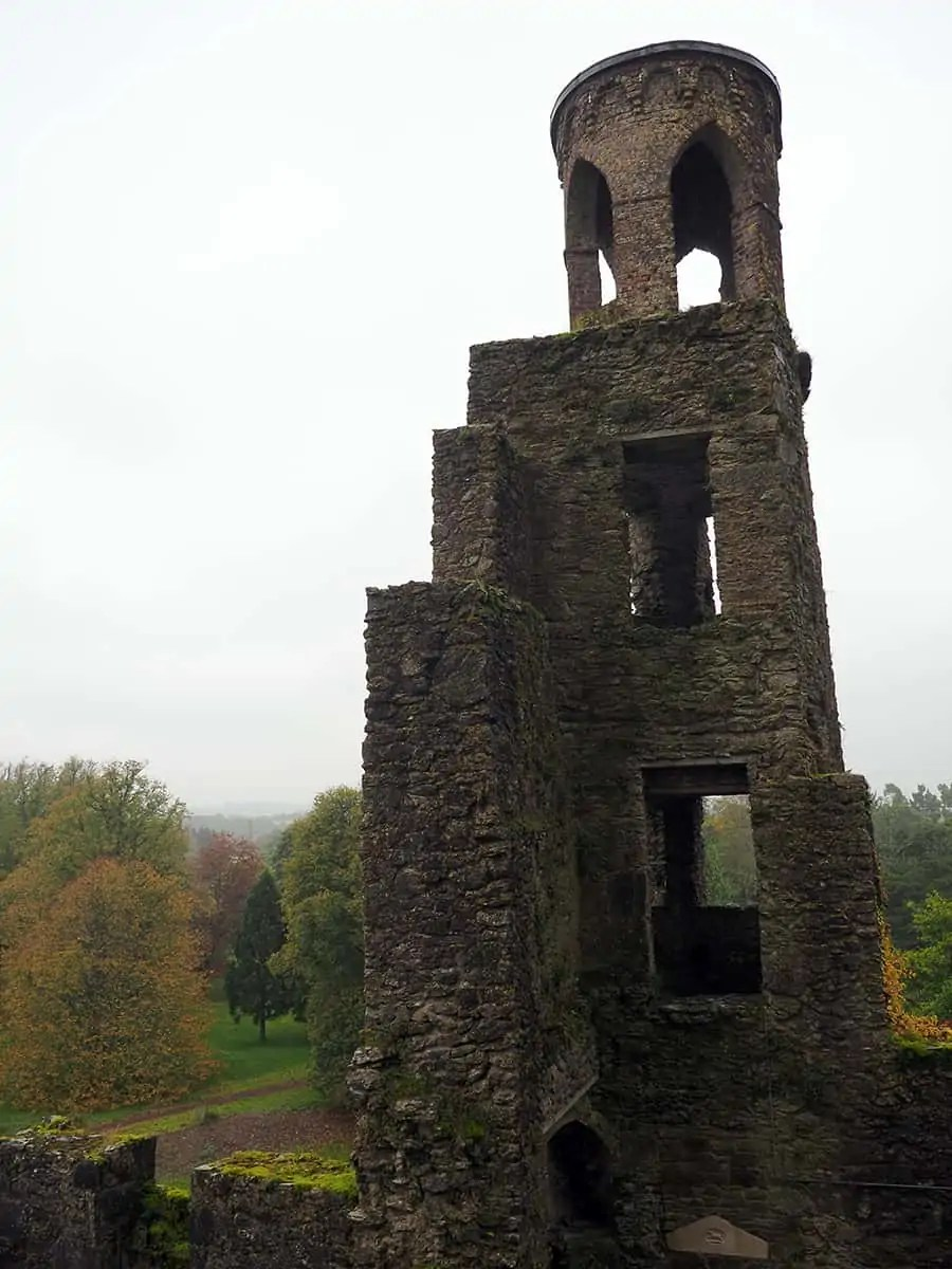 the Blarney Castle grounds in Ireland   via The Spirited Violet