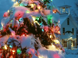5-Christmas-wallpapers-free-christmas-tree-with-lights-burning-wallpaper