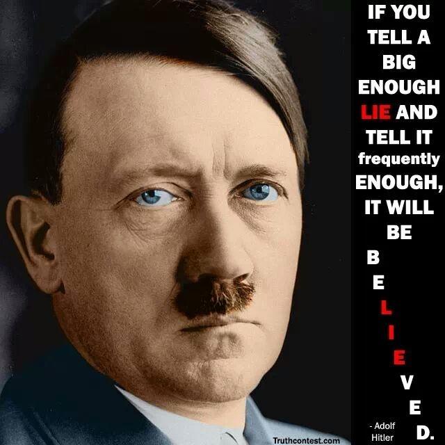 Hitler Mentiras