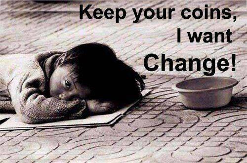I want changes