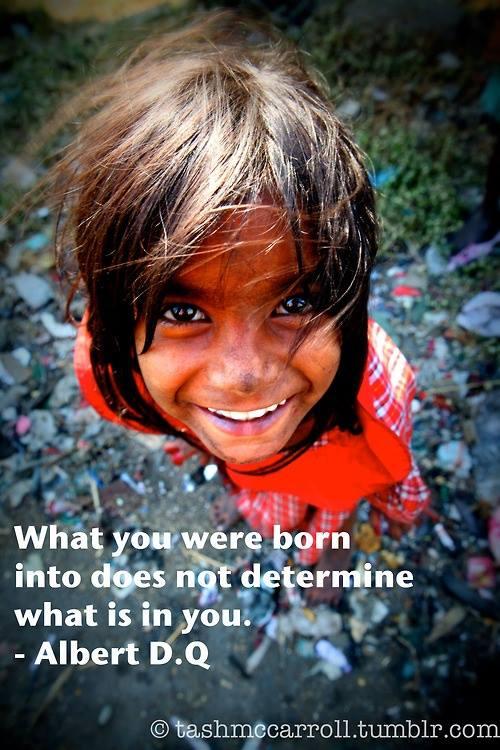 born into