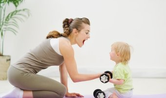 Fitness tips for Mothers to get back into shape and the famous fitness centers in India