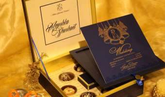Unique Gifts Ideas With Wedding Invitation Cards