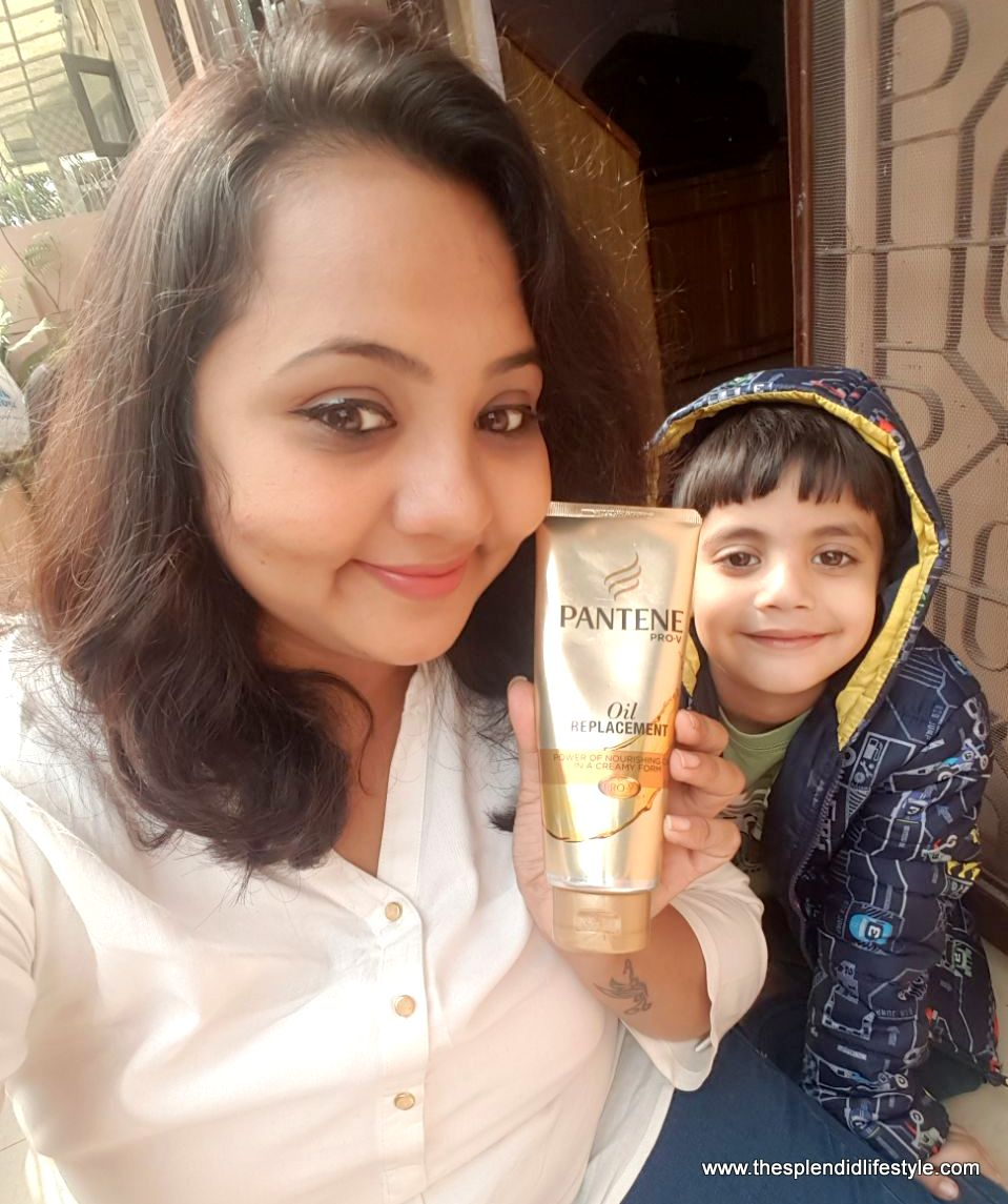 Pantene Pro -V Oil Replacement - Review and How To Use