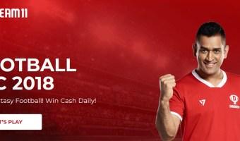 Fantasy Football Games on Dream11