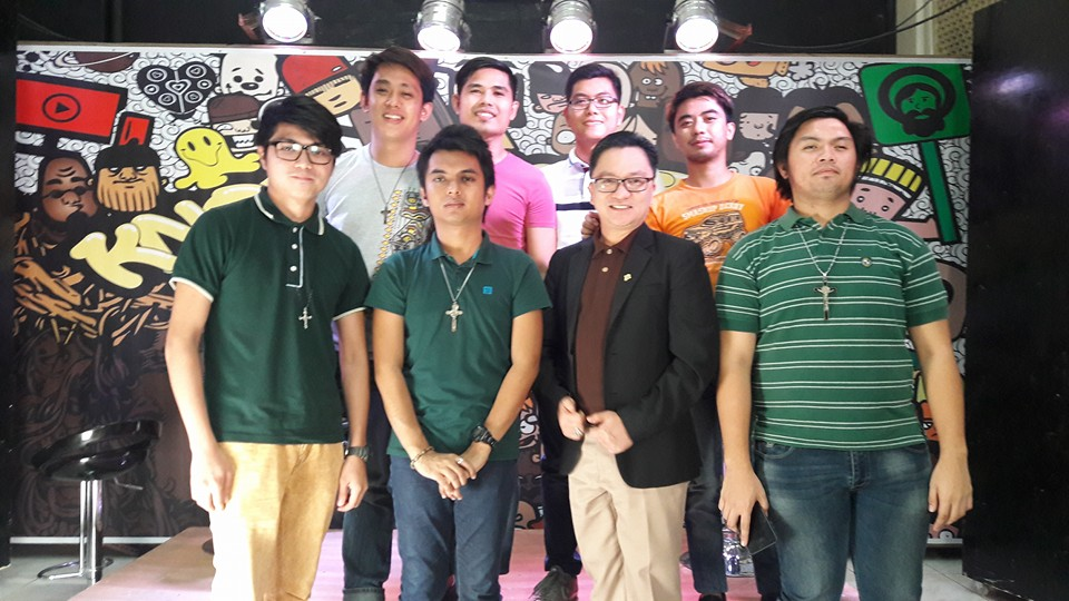 From left front row: Engr. Kenneth Endaya, Carlo Cortez, Atty. Marwil Llasos, John Stephen Manalo Cervantes. From right second row: Randale Don Llanaresas, Michael Vincent Suico, Bien Agabin and Alex Bernard San Jose.