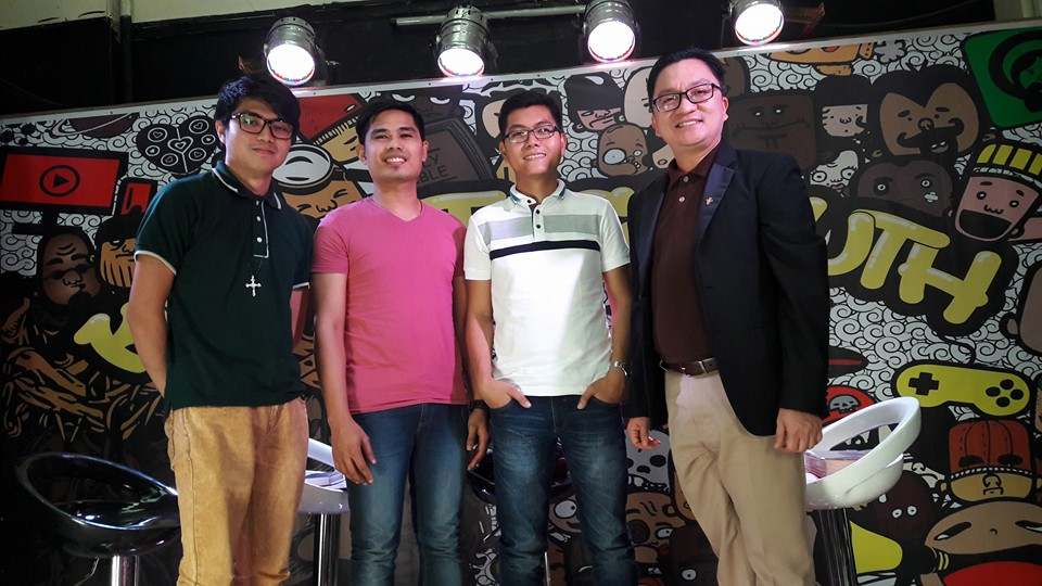 From left: Atty. Marwil Llasos, Michael Vincent Suico, Bien Agabin, and Engr. Kenneth Endaya