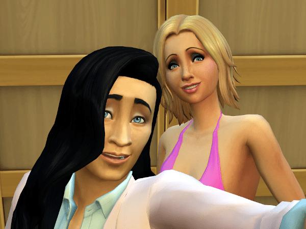 Sims 4 selfie