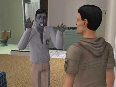 Sims 2 vampire