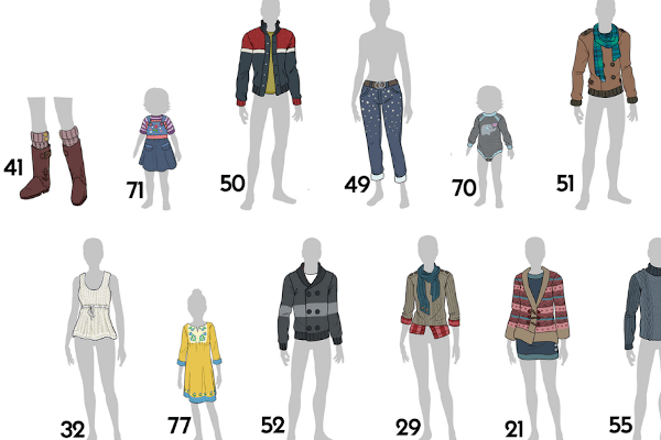 New Sims 4 CAS fashion items for the Arts & Crafts stuff pack