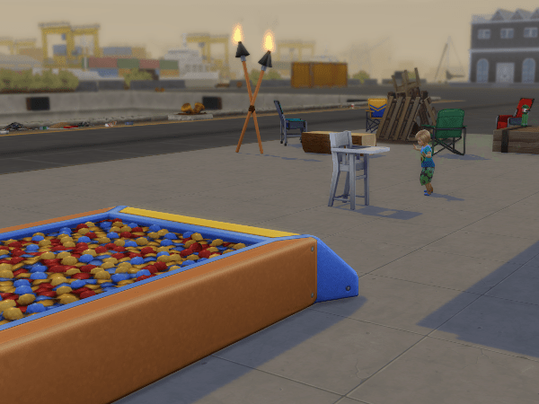 sims 4 industrial area