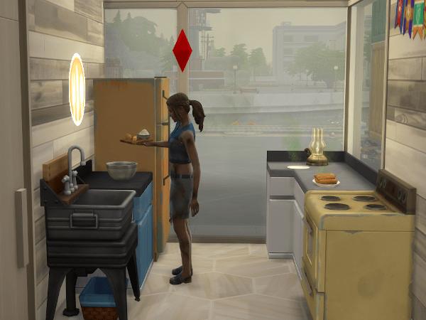 Sim cooking off-grid