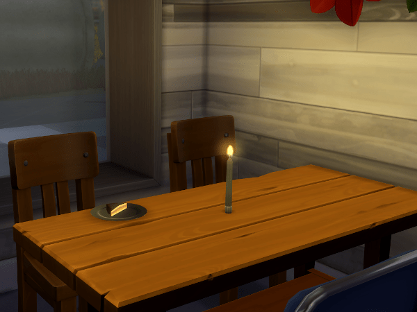 Sims 4 candle Eco Lifestyle