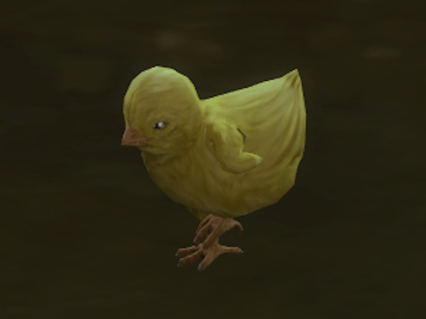 Sims 4 Cottage Living baby chick