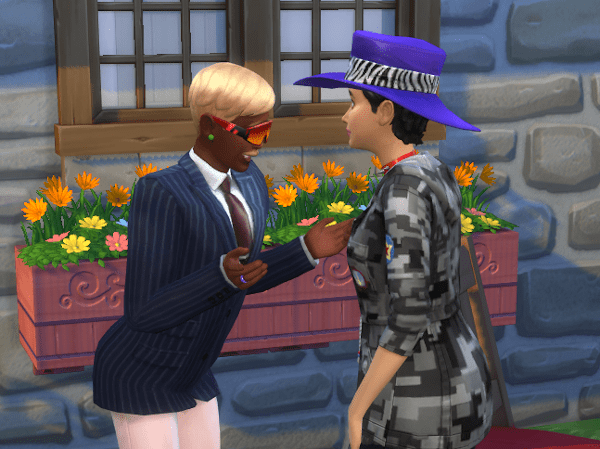 Sims 4 ask to woohoo