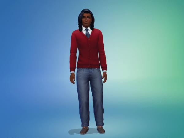 Sims 4 Peppino Lemus makeover