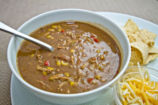 Carnitas, Corn, and Black Bean Soup 2