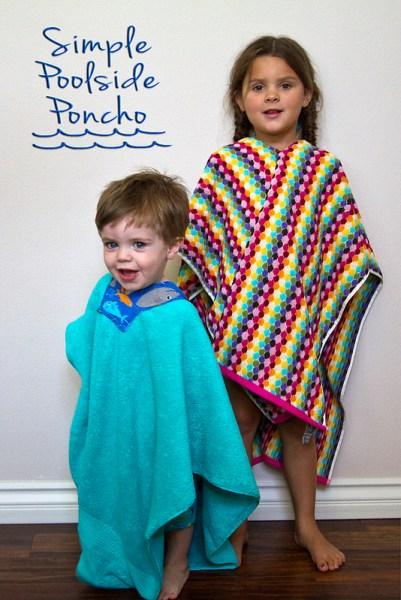 poolside poncho
