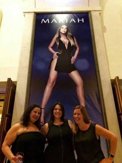 at Mariah Carey