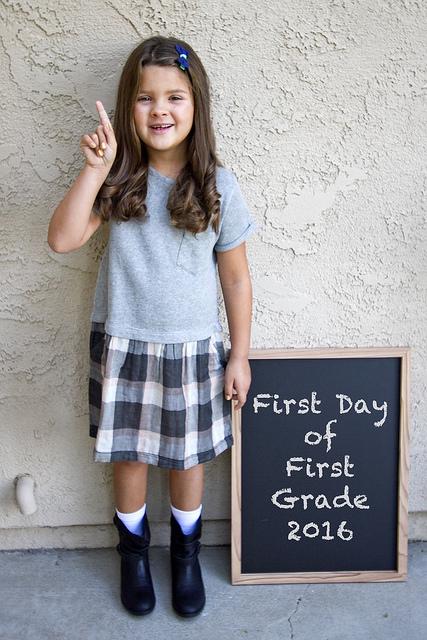 First Grader!