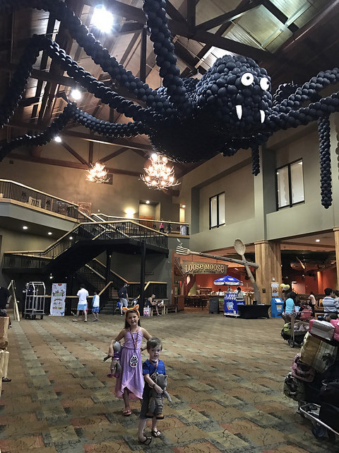 great wolf lodge lobby