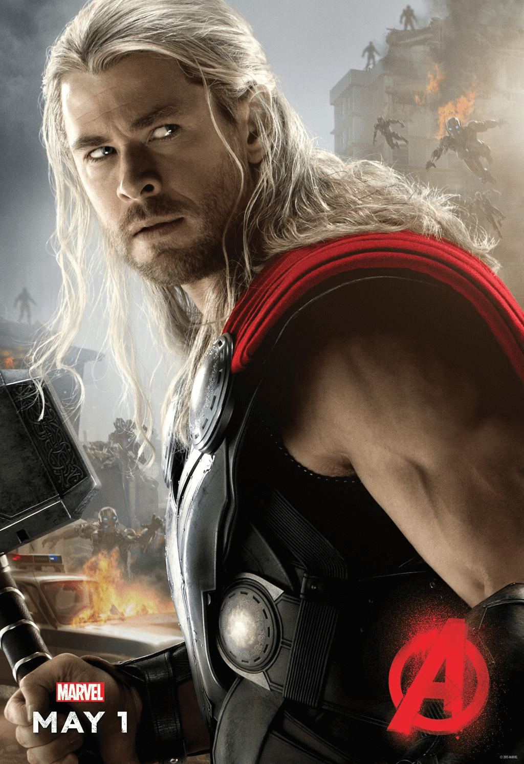 Age of Ultron Thor poster