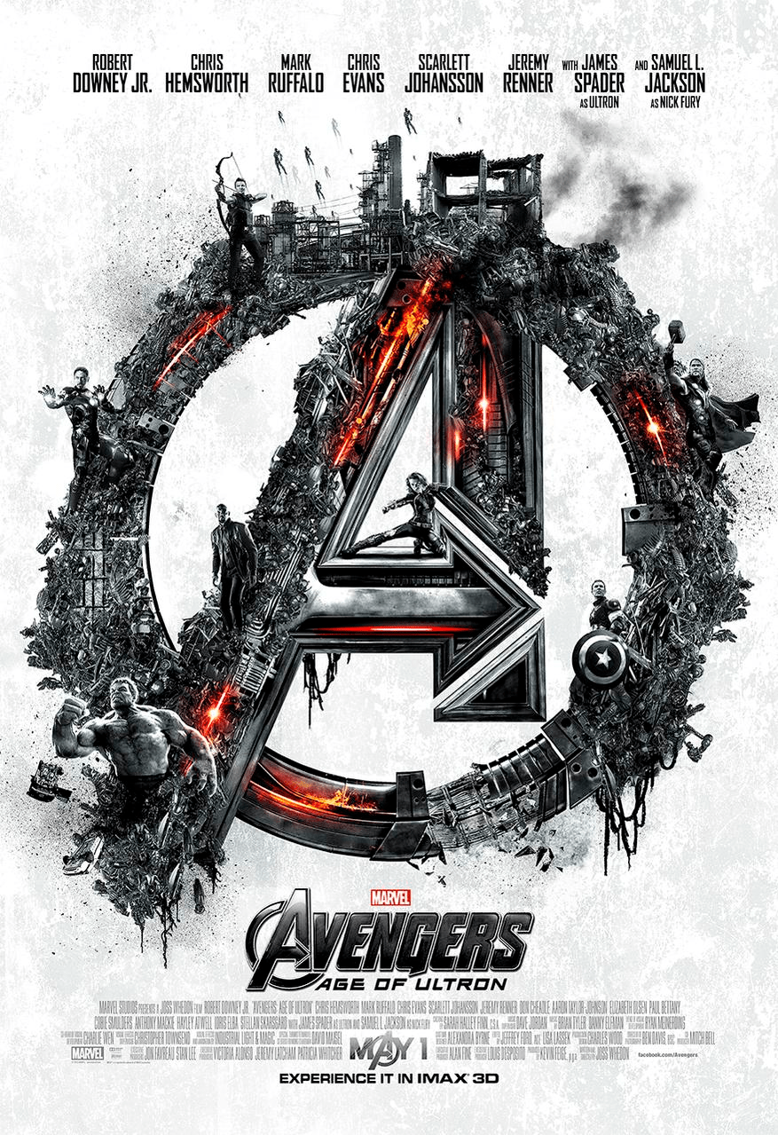 Avengers Age of ULTRON IMAX poster 3