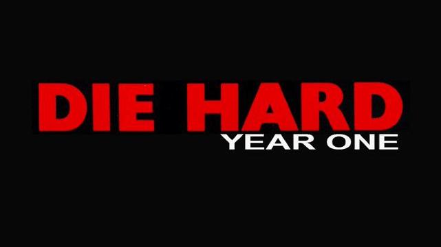 Die Hard Year One title card