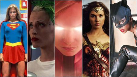 Captain Marvel Female Supeheroes