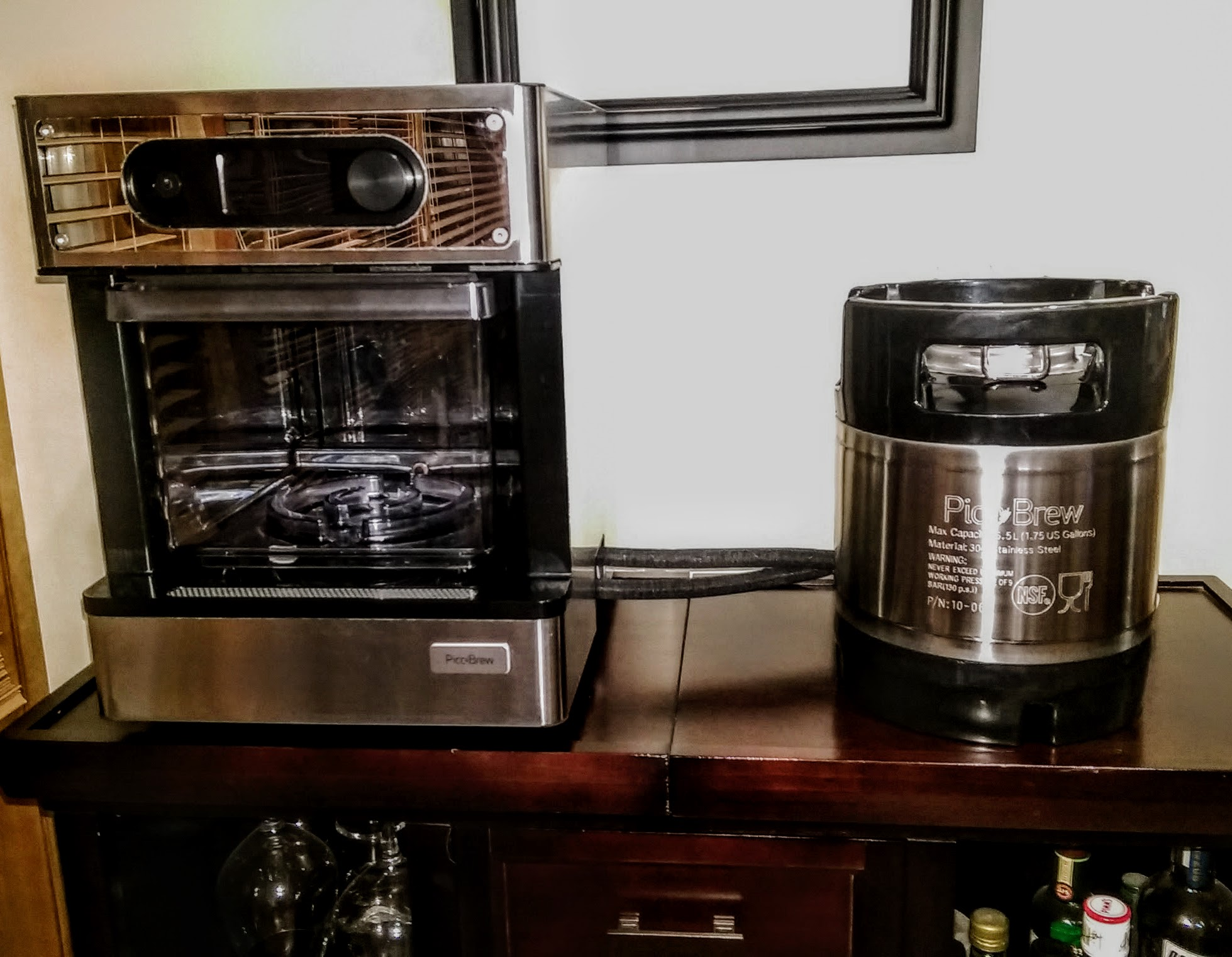 Read to brew: the Pico and the brew keg