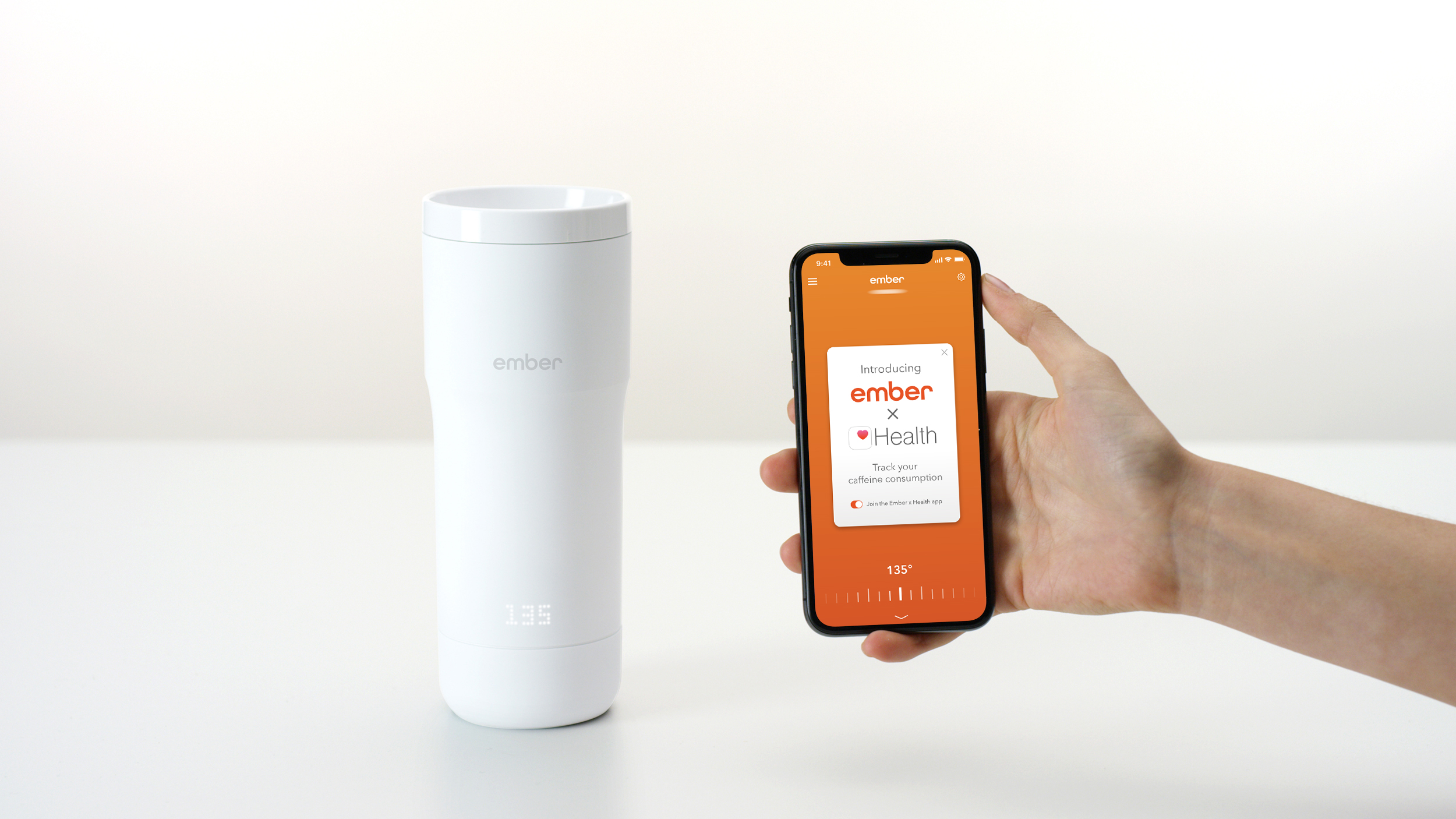 Ember Integrates With Apple Health To Track Caffeine