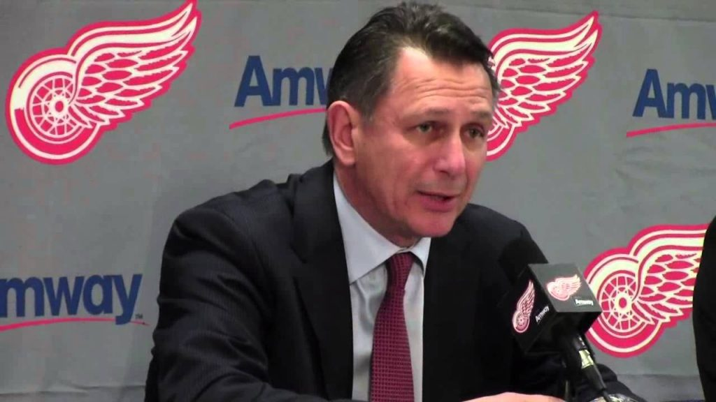 The First Domino Why The Detroit Red Wings Playoff Streak