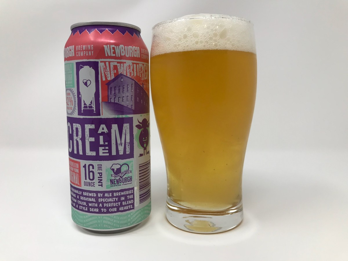 Newburgh Brewery Cream Ale Review